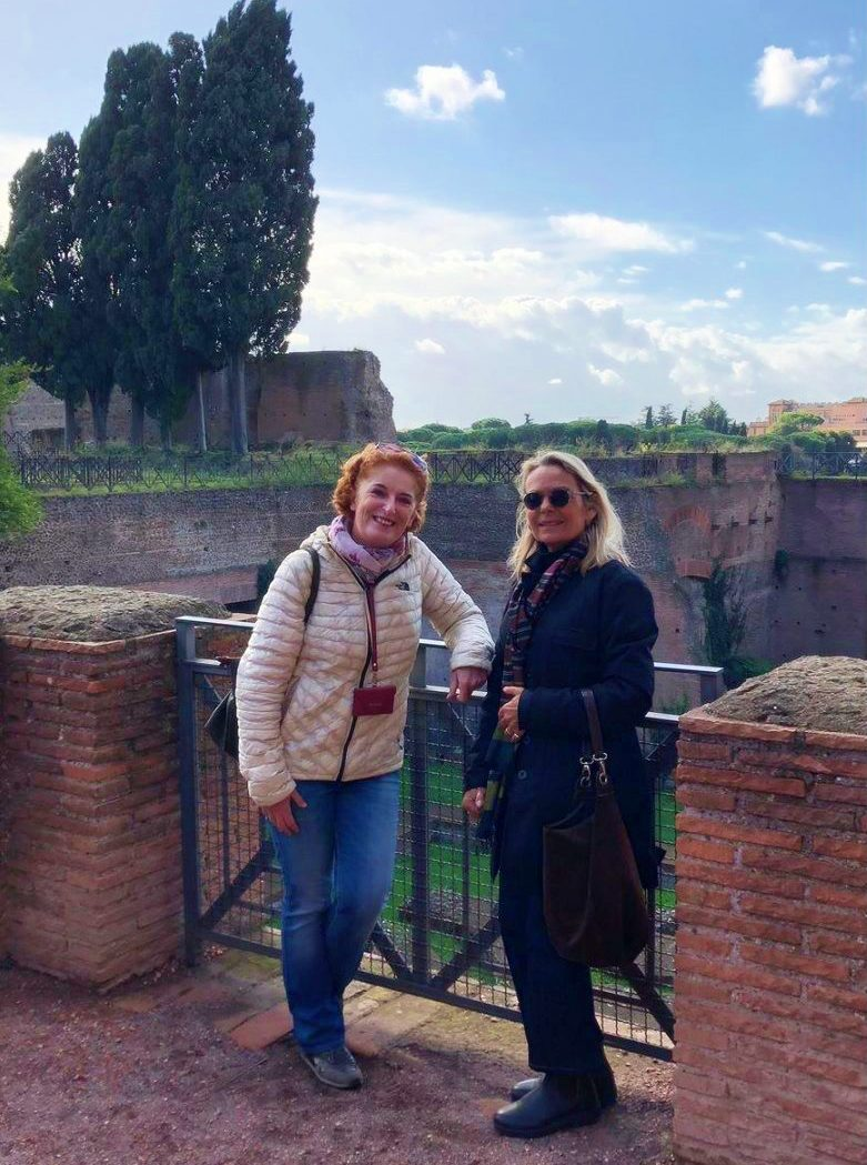 Barbara and Magda - Rome Private Guides