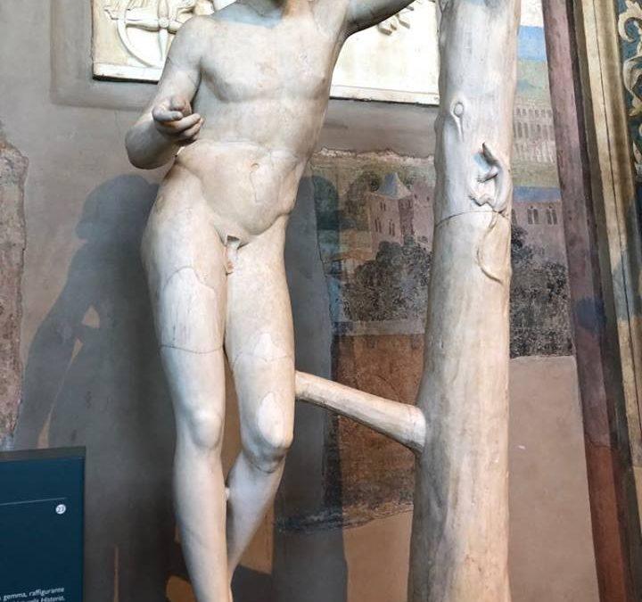 Apollo Sauroktono – Museo PioClementino in Vaticano