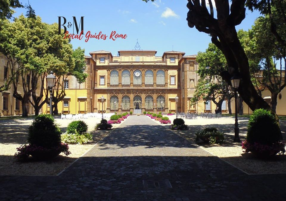 Villa Mondragone a Frascati (RM)