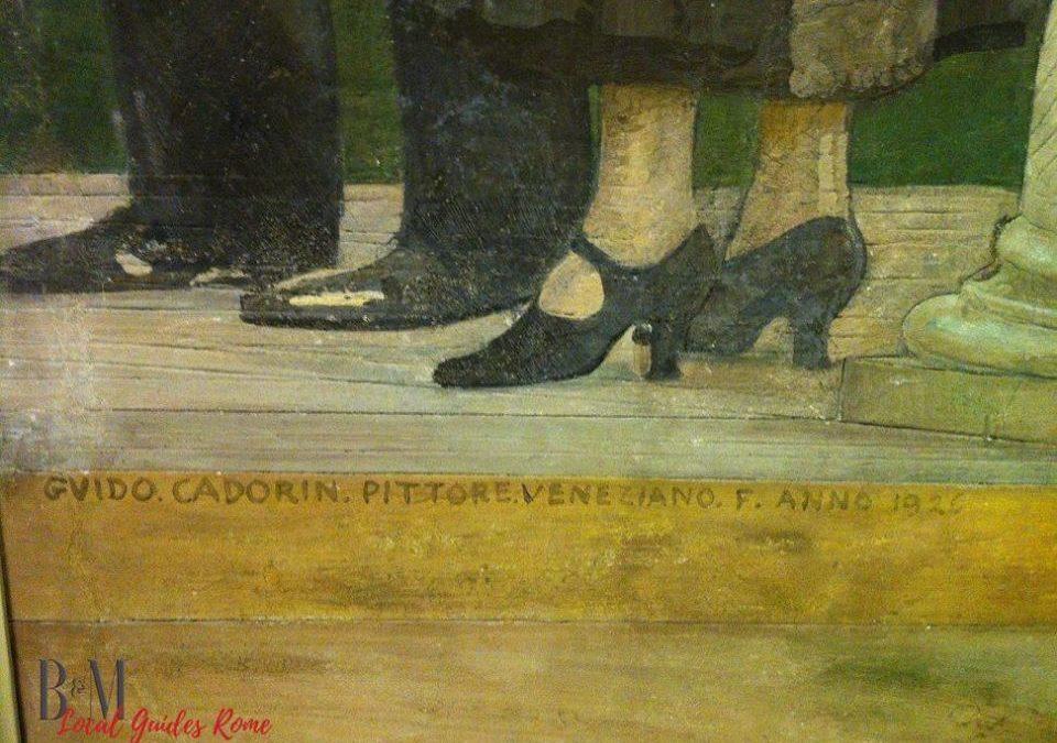 A Roma l'ultimo ciclo di affreschi, a committenza privata, della pittura moderna.